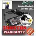 Adaptor Acer 20V 3.25A Series (5.5 x 2.5mm)