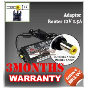 Adaptor Router 12V 1.5A Series