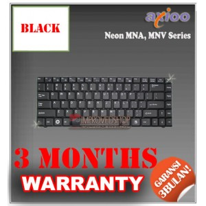 Keyboard Notebook/Netbook/Laptop Original Parts New for Axioo Neon MNA, MNV Series