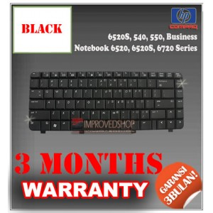 Keyboard Notebook/Netbook/Laptop Original Parts New for HP 6520S, 540, 550, Business Notebook 6520, 6520S, 6720 Series