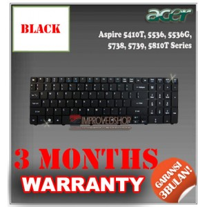 Keyboard Notebook/Netbook/Laptop Original Parts New for Acer Aspire 5410T, 5536, 5536G, 5738, 5739, 5810T  Series