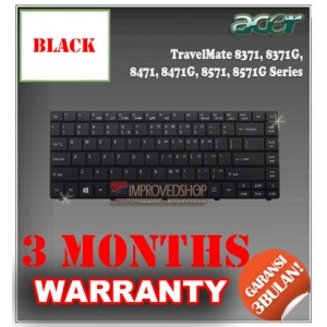 Keyboard Notebook/Netbook/Laptop Original Parts New for Acer TravelMate 8371, 8371G, 8471, 8471G, 8571, 8571G Series