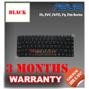 Keyboard Notebook/Netbook/Laptop Original Parts New for Asus F6, F6V, F6VE, F9, F90 Series