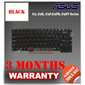 Keyboard Notebook/Netbook/Laptop Original Parts New for Asus G2, G2K, G2P,G2PB, G2SV Series