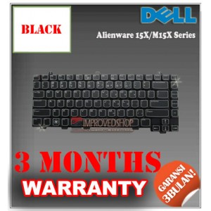 Keyboard Notebook/Netbook/Laptop Original Parts New for Dell Alienware 15X/M15X Series