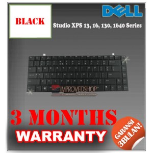 Keyboard Notebook/Netbook/Laptop Original Parts New for Dell Studio XPS 13, 16, 130, 1640 Series