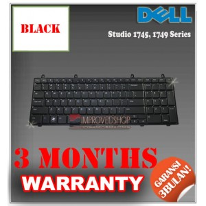 Keyboard Notebook/Netbook/Laptop Original Parts New for Dell Studio 1745, 1749 Series