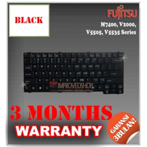 Keyboard Notebook/Netbook/Laptop Original Parts New for Fujitsu M7400, V2000, V5505, V5535 Series