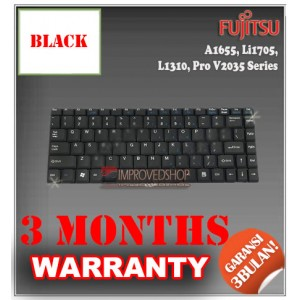 Keyboard Notebook/Netbook/Laptop Original Parts New for Fujitsu A1655, Li1705, L1310, Pro V2035 Series