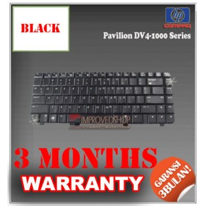 Keyboard Notebook/Netbook/Laptop Original Parts New for HP Pavilion DV4-1000 Series
