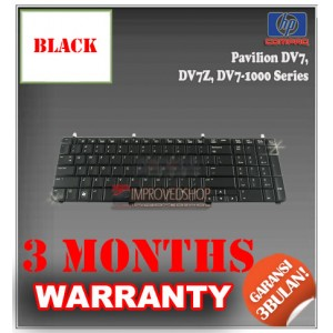 Keyboard Notebook/Netbook/Laptop Original Parts New for HP Pavilion DV7, DV7Z, DV7-1000 Series