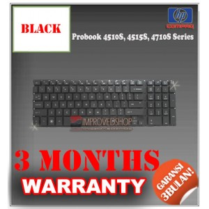 Keyboard Notebook/Netbook/Laptop Original Parts New for HP Probook 4510S, 4515S, 4710S Series