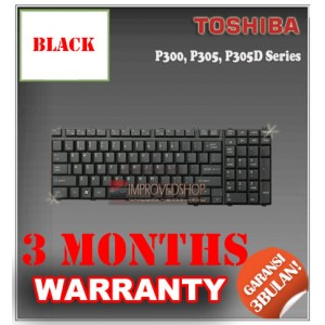 Keyboard Notebook/Netbook/Laptop Original Parts New for Toshiba P300, P305, P305D Series