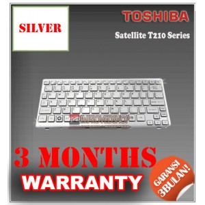 Keyboard Notebook/Netbook/Laptop Original Parts New for Toshiba Satellite T210 Series