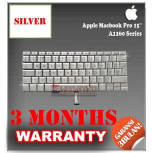 "Keyboard Notebook/Netbook/Laptop Original Parts New for Apple Macbook Pro 15"" A1260 Series"