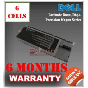 Baterai Dell Latitude D620, D630, D640, Precision M2300 Series