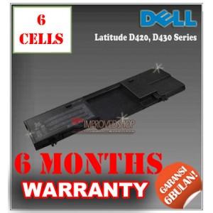 Baterai Dell Latitude D420, D430 Series